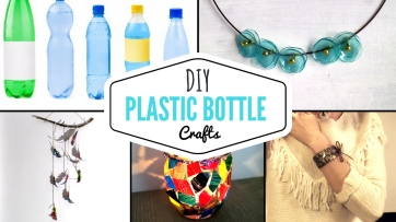 Video Tutorials with recycling ideas using plastic bottles, toilet paper rolls or magazines